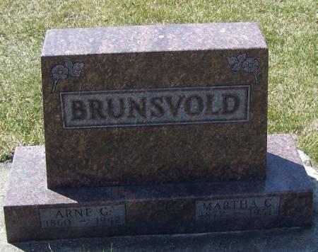 BRUNSVOLD, MARTHA C - Winneshiek County, Iowa | MARTHA C BRUNSVOLD