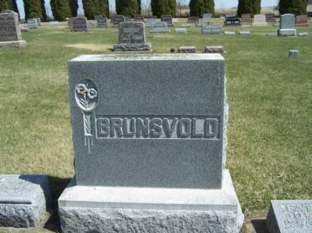 BRUNSVOLD, OLE FAMILY STONE - Winneshiek County, Iowa | OLE FAMILY STONE BRUNSVOLD