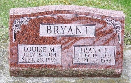 BRYANT, FRANK E. - Winneshiek County, Iowa | FRANK E. BRYANT