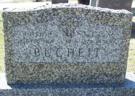 BUCHEIT, PHILIP - Winneshiek County, Iowa   PHILIP BUCHEIT