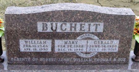 BUCHEIT, GERALD - Winneshiek County, Iowa   GERALD BUCHEIT