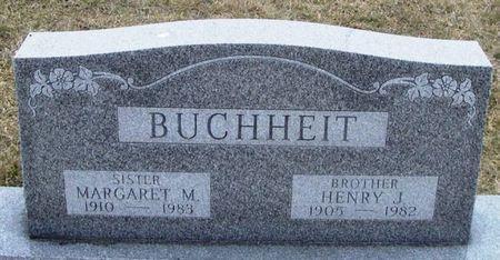 BUCHHEIT, MARGARET M. - Winneshiek County, Iowa | MARGARET M. BUCHHEIT