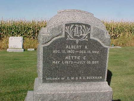 BUCKNAM, NETTIE E. - Winneshiek County, Iowa | NETTIE E. BUCKNAM