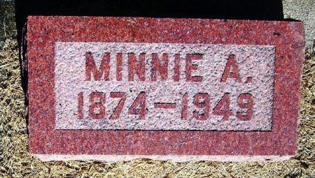 BUCKNELL, MINNIE A - Winneshiek County, Iowa | MINNIE A BUCKNELL
