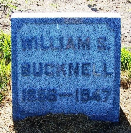 BUCKNELL, WILLIAM S. - Winneshiek County, Iowa | WILLIAM S. BUCKNELL