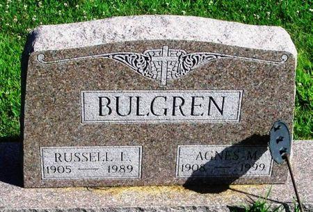BULGREN, AGNES M. - Winneshiek County, Iowa   AGNES M. BULGREN