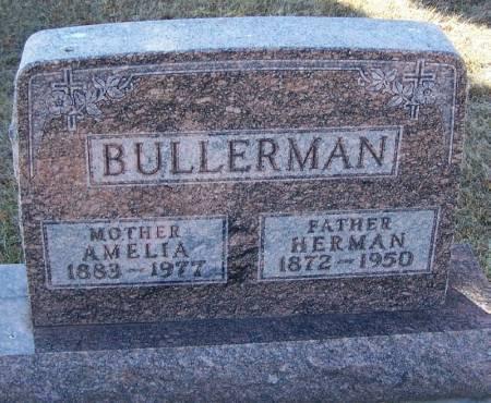 BULLERMAN, HERMAN - Winneshiek County, Iowa   HERMAN BULLERMAN