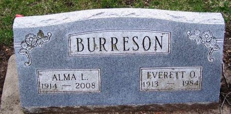 BURRESON, EVERETT O. - Winneshiek County, Iowa | EVERETT O. BURRESON