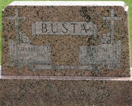 BUSTA, ROSE M. - Winneshiek County, Iowa   ROSE M. BUSTA