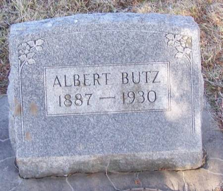 BUTZ, ALBERT - Winneshiek County, Iowa   ALBERT BUTZ