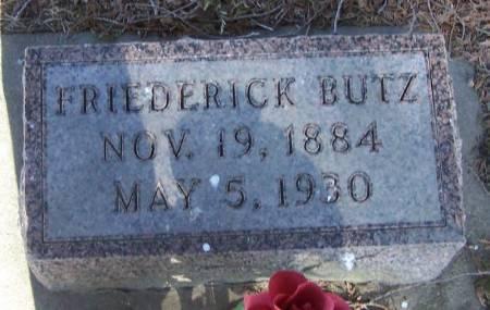 BUTZ, FRIEDERICK - Winneshiek County, Iowa | FRIEDERICK BUTZ