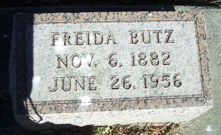 BUTZ, FRIEDA - Winneshiek County, Iowa | FRIEDA BUTZ