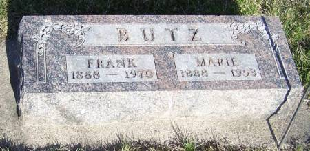 BUTZ, MARIE - Winneshiek County, Iowa | MARIE BUTZ
