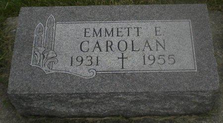 CAROLAN, EMMETT E - Winneshiek County, Iowa | EMMETT E CAROLAN