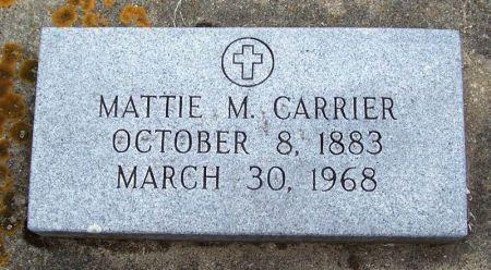 CARRIER, MATTIE M. - Winneshiek County, Iowa   MATTIE M. CARRIER