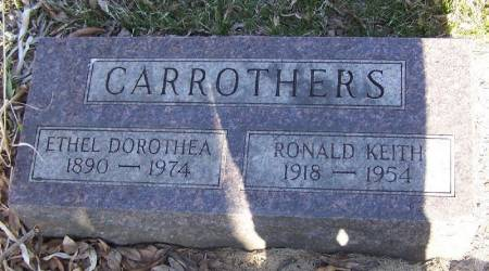 CARROTHERS, RONALD KEITH - Winneshiek County, Iowa | RONALD KEITH CARROTHERS