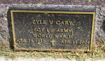 CARY, LYLE V. - Winneshiek County, Iowa | LYLE V. CARY
