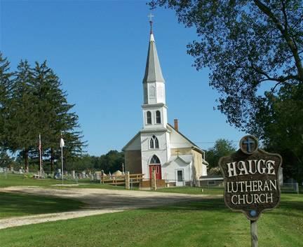 HAUGE LUTHERAN, CEMETERY - Winneshiek County, Iowa | CEMETERY HAUGE LUTHERAN