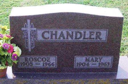CHANDLER, ROSCOE - Winneshiek County, Iowa   ROSCOE CHANDLER
