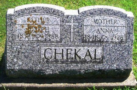 CHEKAL, ANNA - Winneshiek County, Iowa   ANNA CHEKAL