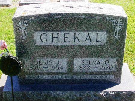 CHEKAL, JULIUS J. - Winneshiek County, Iowa | JULIUS J. CHEKAL