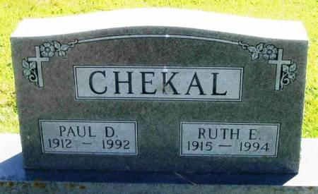 CHEKAL, PAUL D - Winneshiek County, Iowa | PAUL D CHEKAL