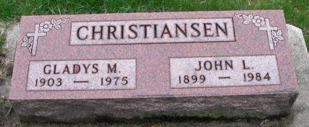 CHRISTIANSEN, JOHN L. - Winneshiek County, Iowa | JOHN L. CHRISTIANSEN