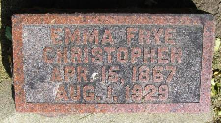 CHRISTOPHER, EMMA - Winneshiek County, Iowa | EMMA CHRISTOPHER