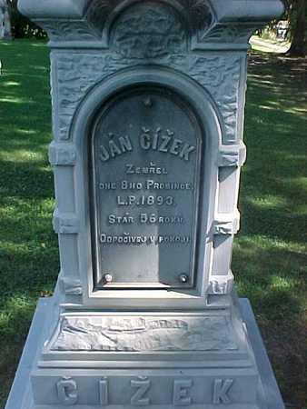 CIZEK, JAN - Winneshiek County, Iowa | JAN CIZEK