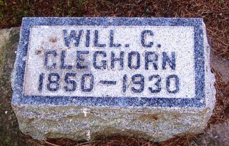 CLEGHORN, WILL C. - Winneshiek County, Iowa | WILL C. CLEGHORN