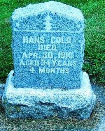 GOLD, HANS - Winneshiek County, Iowa | HANS GOLD