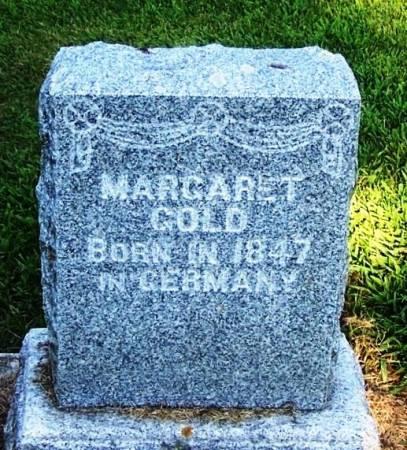GOLD, MARGARET - Winneshiek County, Iowa | MARGARET GOLD
