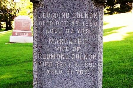 COLNON, MARGARET - Winneshiek County, Iowa | MARGARET COLNON