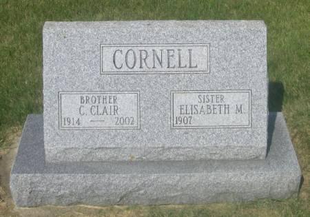 CORNELL, C. CLAIR - Winneshiek County, Iowa | C. CLAIR CORNELL