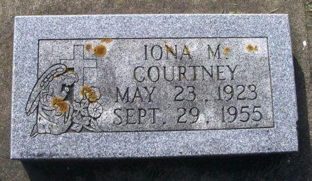 COURTNEY, IONA M. - Winneshiek County, Iowa   IONA M. COURTNEY