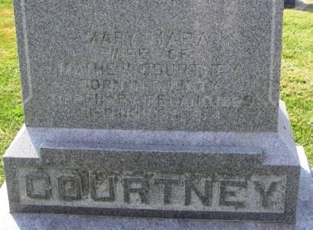COURTNEY, MARY MARA - Winneshiek County, Iowa   MARY MARA COURTNEY