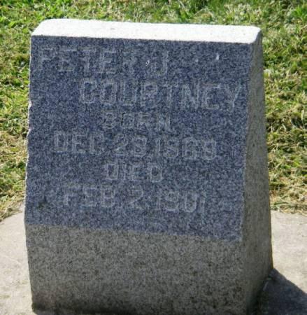 COURTNEY, PETER J. - Winneshiek County, Iowa   PETER J. COURTNEY