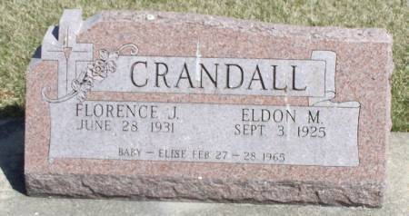 CRANDALL, ELSIE BABY - Winneshiek County, Iowa | ELSIE BABY CRANDALL