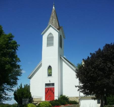 CHURCH, CANOE RIDGE LUTHERAN - Winneshiek County, Iowa | CANOE RIDGE LUTHERAN CHURCH