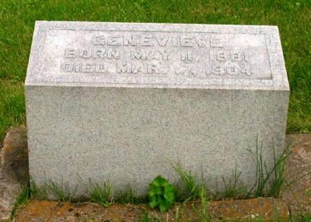 CURTIN, GENEVIEVE - Winneshiek County, Iowa | GENEVIEVE CURTIN