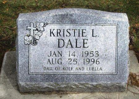 DALE, KRISTIE L. - Winneshiek County, Iowa   KRISTIE L. DALE