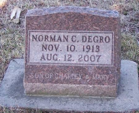DEGRO, NORMAN C - Winneshiek County, Iowa | NORMAN C DEGRO
