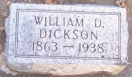 DICKSON, WILLIAM D - Winneshiek County, Iowa   WILLIAM D DICKSON