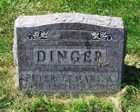 DINGER, MARY A. - Winneshiek County, Iowa | MARY A. DINGER