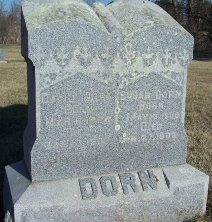 DORN, DAVID - Winneshiek County, Iowa | DAVID DORN