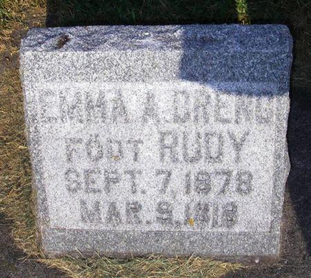 RUDY DRENG, EMMA A. - Winneshiek County, Iowa   EMMA A. RUDY DRENG