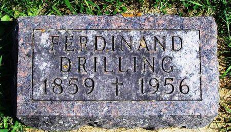 DRILLING, FERDINAND - Winneshiek County, Iowa | FERDINAND DRILLING