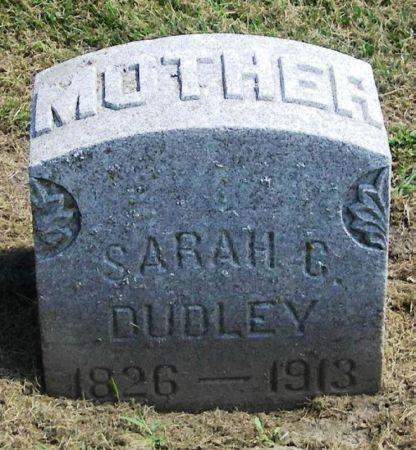 DUDLEY, SARAH C. - Winneshiek County, Iowa | SARAH C. DUDLEY