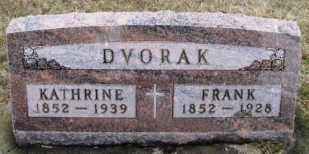 DVORAK, FRANK - Winneshiek County, Iowa   FRANK DVORAK