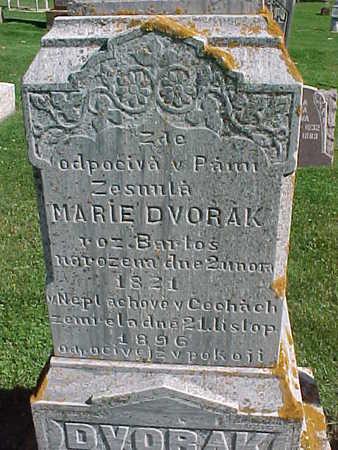 DVORAK, MARIE - Winneshiek County, Iowa   MARIE DVORAK